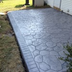 stamped concrete patio in PA