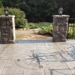 custom stone patio