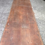 Boardwalk Stamped Concrete Pattern