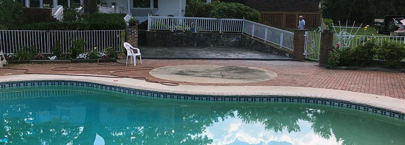 Glen Mills Pool Patio