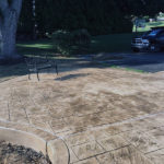 Stamped Concrete Patio in Thornton, PA