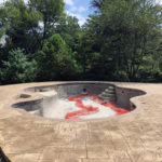 Pool Deck in Chadds Ford