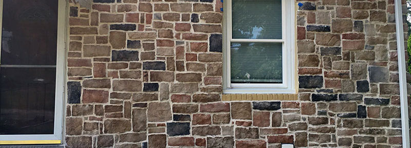 Stone Veneer in Newtown Square