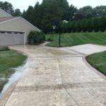 Garnet Valley Stamped Concrete Driveway