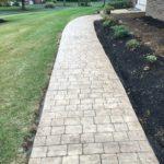 Garnet Valley Stamped Concrete Walkway