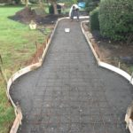 Stamped Concrete Walkway in Edgmont
