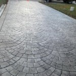 fan cobblestone concrete
