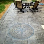 14x30 Ft. Stamped Concrete Patio in Drexel Hill, Pa