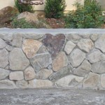 custom masonry stone wall