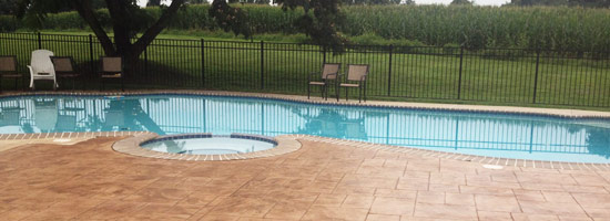 stamped concrete springfield