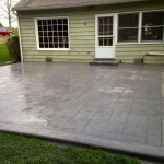 25x25 ft. Stamped Concrete Patio in Glen Mills,Pa