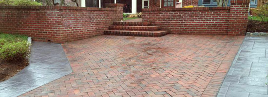 stamped concrete chester county