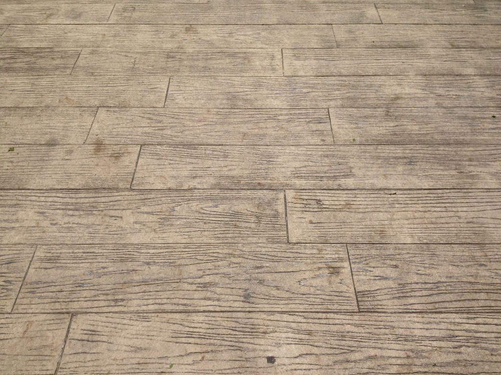 Stamped Concrete Wood Pattern Amazing Decorating Ideas