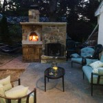 Brick Oven/Fireplace and concrete patio area in Middletown, Pa