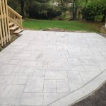 stamped concrete driveway in Broomall, PA