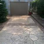 Arizona Flagstone Stamped Concrete Pattern