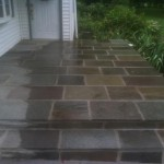 stone work patio
