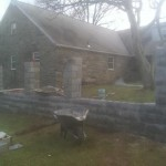 pennsylvania masonry job in progress