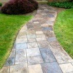 stamped concrete walkway Chadds Ford