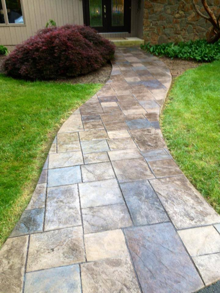 Recent Job Gallery Difelice Stamped Concrete And Masonry